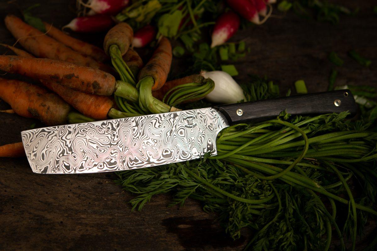 Couteau Morta Chef DAMAS 3