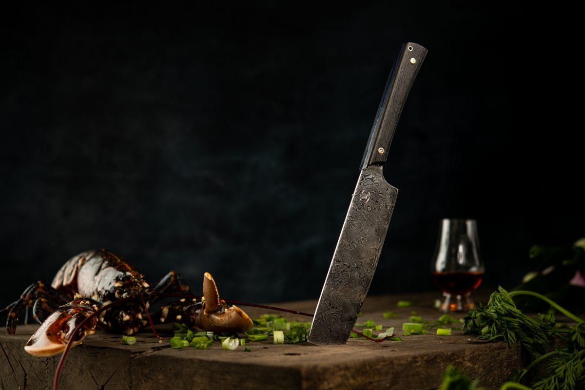 Couteau Morta Chef DAMAS 5