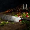 Couteau Morta Chef DAMAS 6