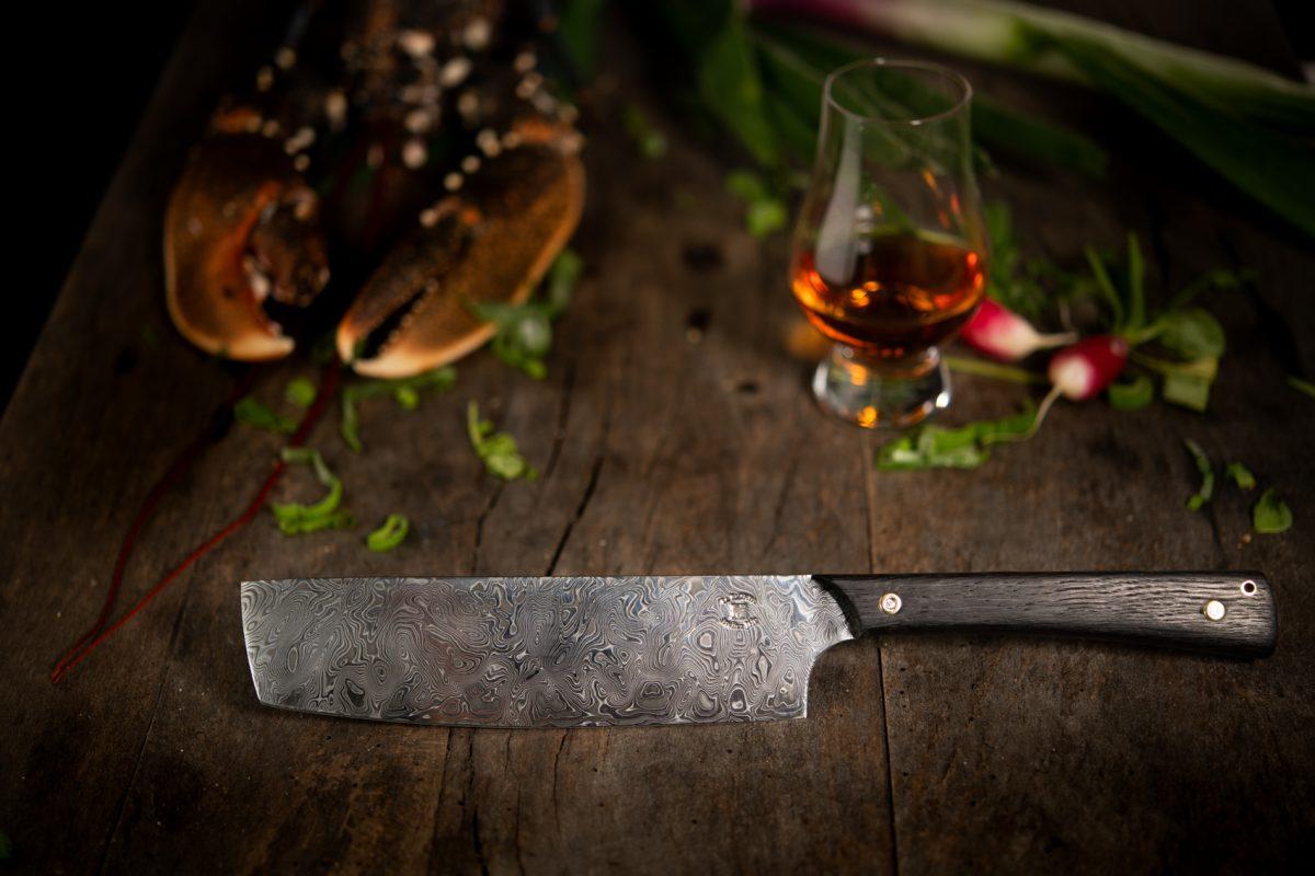 Couteau Morta Chef DAMAS 7