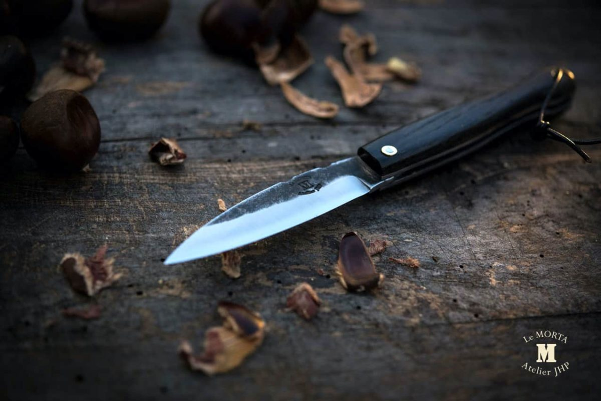 Couteau-Morta-brut-de-forge