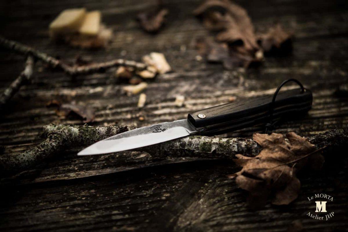 Couteau Morta brut de forge 05