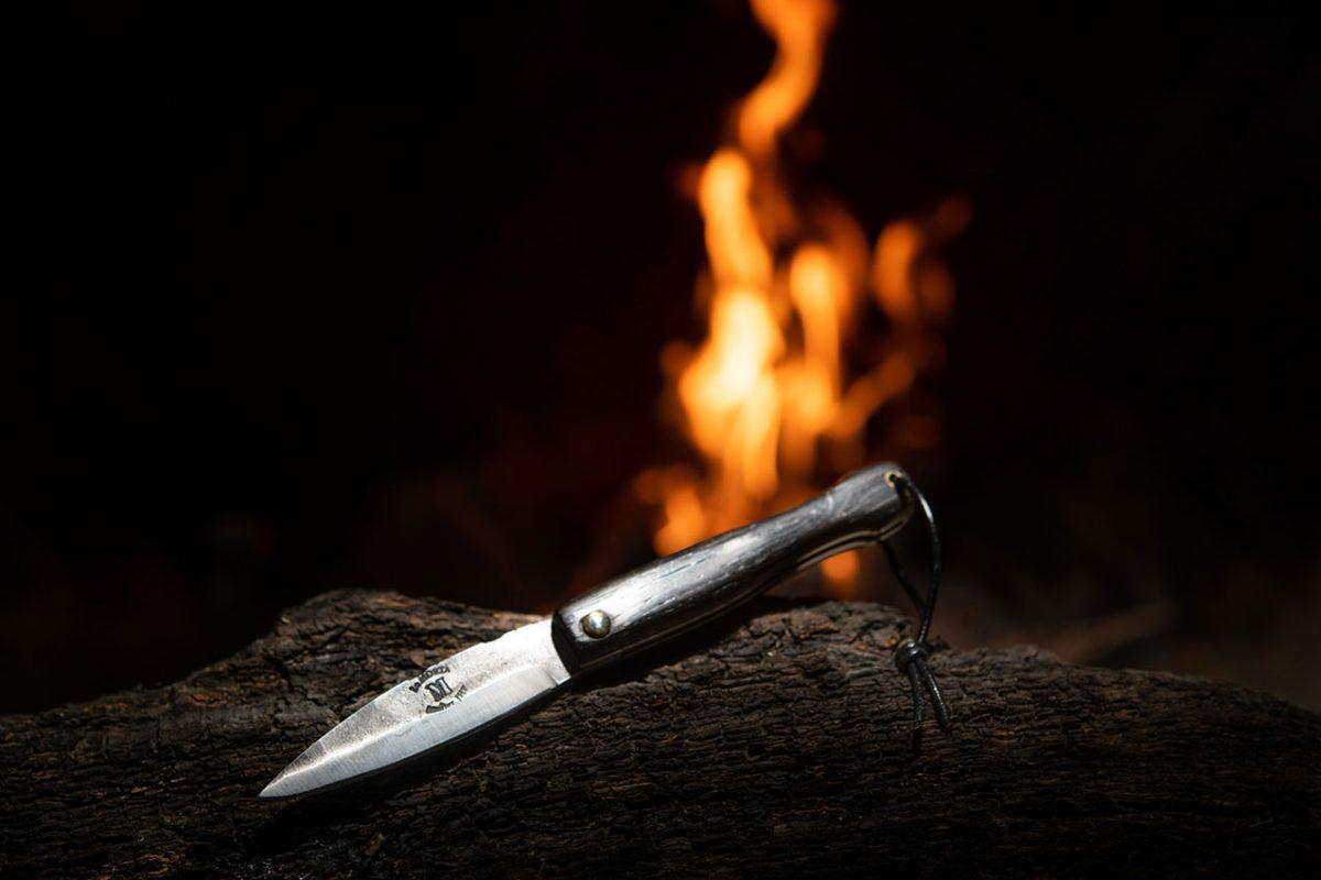 Couteau Morta mini brut de forge 2