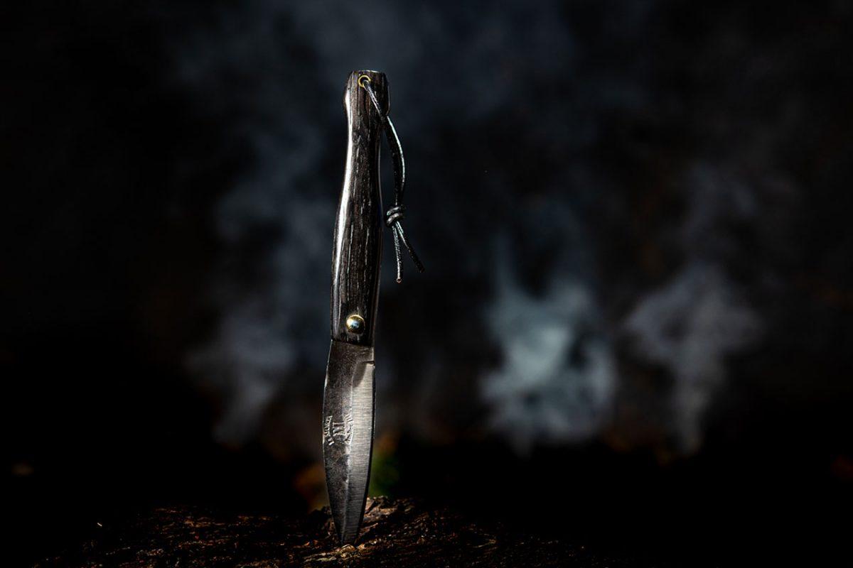 Couteau Morta mini brut de forge 3