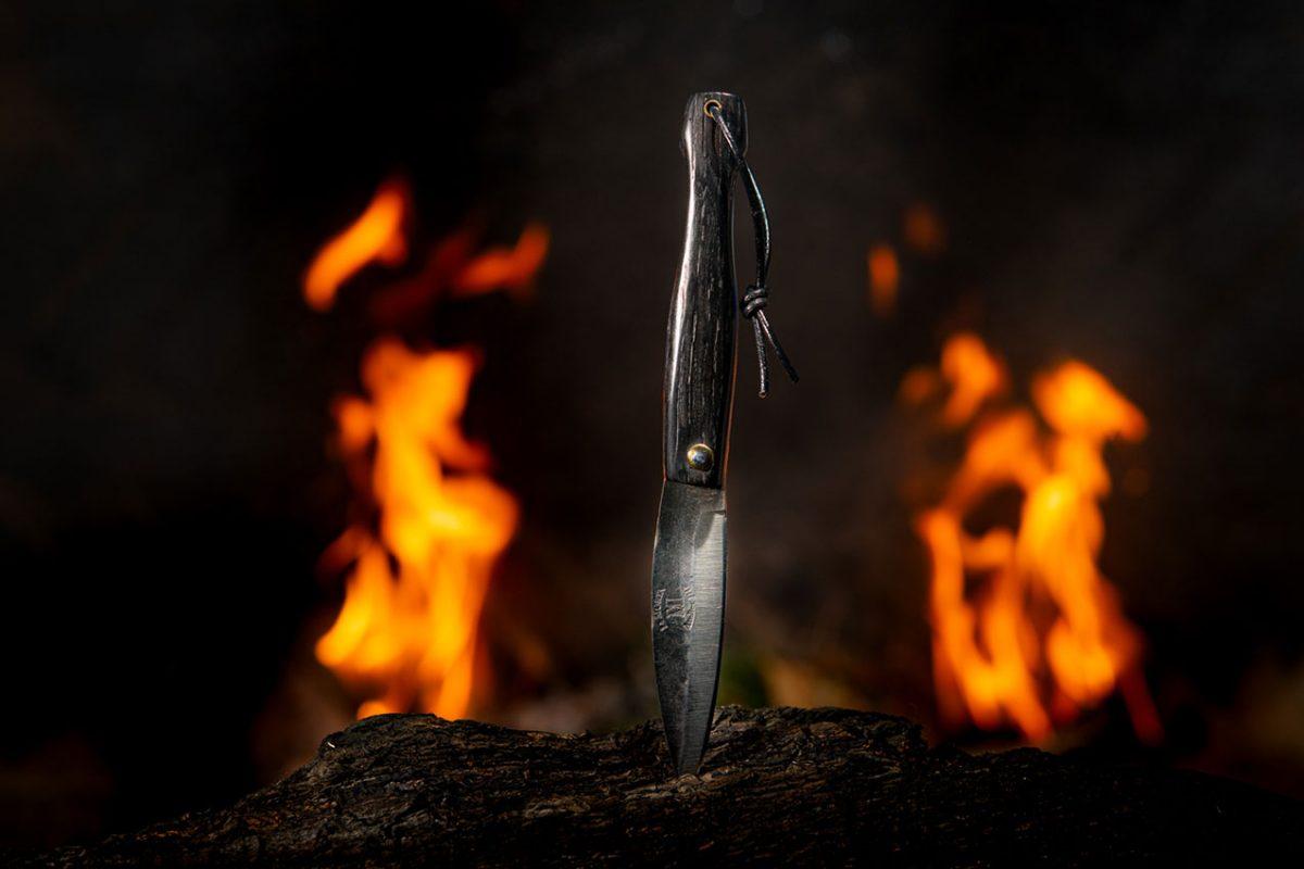 Couteau Morta mini brut de forge 5