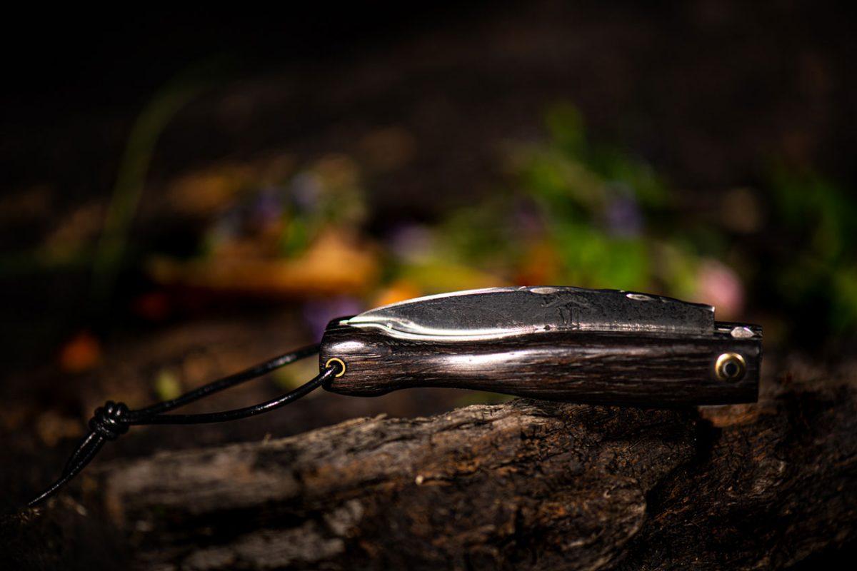 Couteau Morta mini brut de forge 6