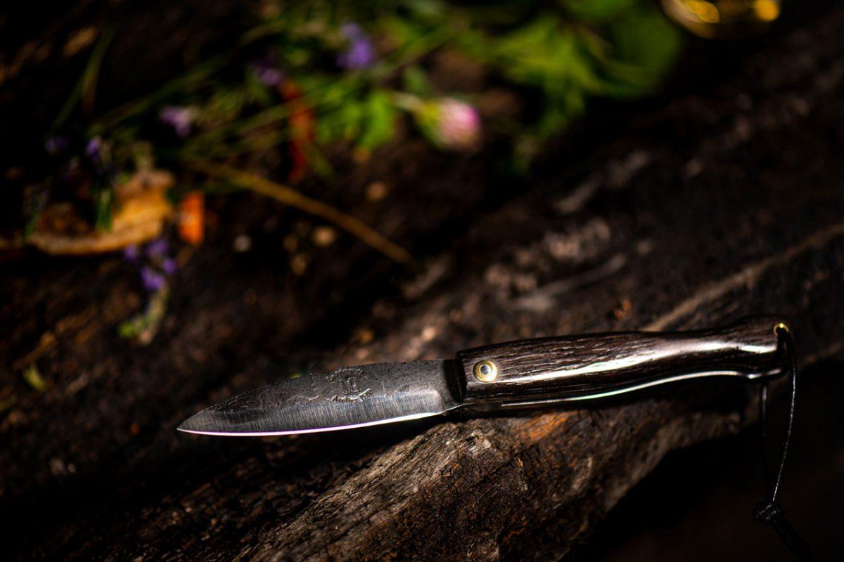 Couteau Morta mini brut de forge 7