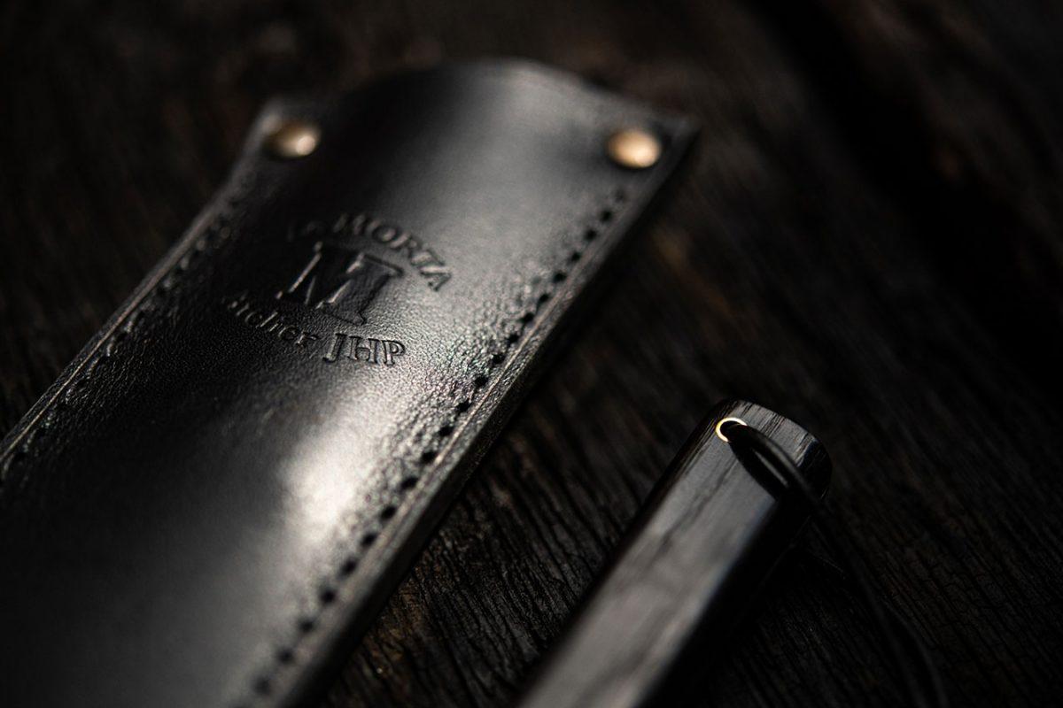 Etui couteau Morta fixe brut de forge 4