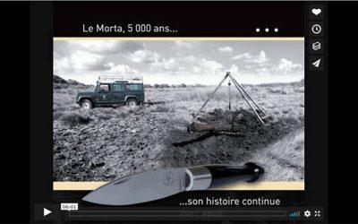 Couteau Morta : clip de présentation