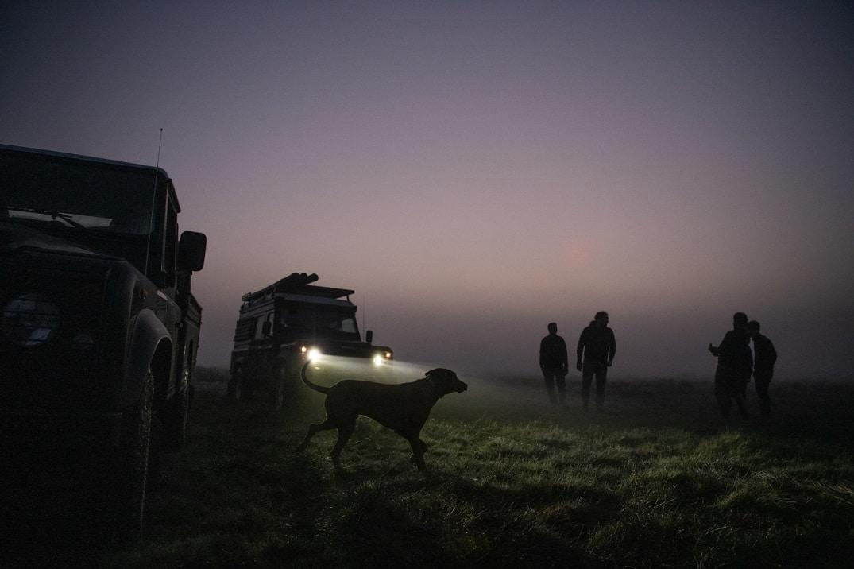 Saison d'extraction du Morta : départ à l'aube
